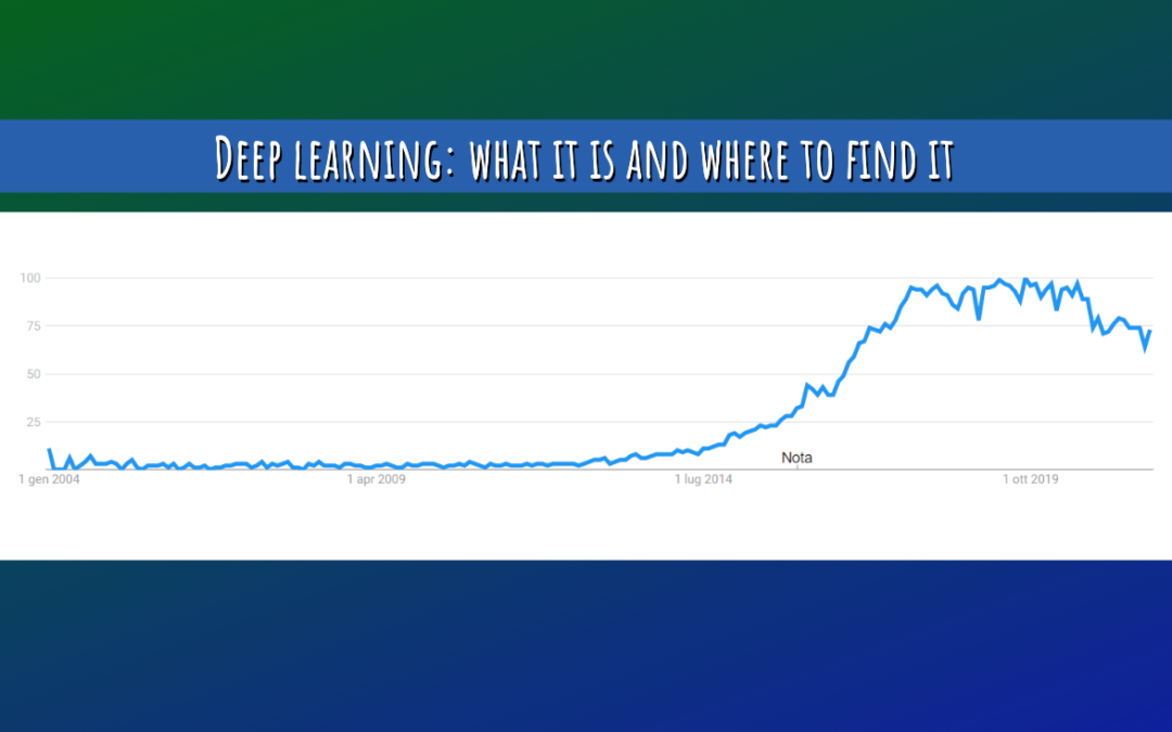 Deep learning: what it is and where to find it